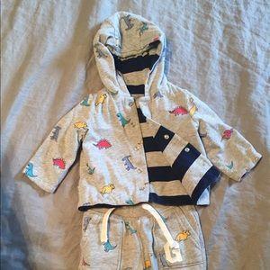 Other - BABY GAP Dinosaur Matching Sweatsuit